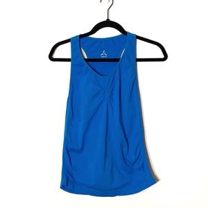 Aspire Blue Fitted Tank Top Workout Athletic